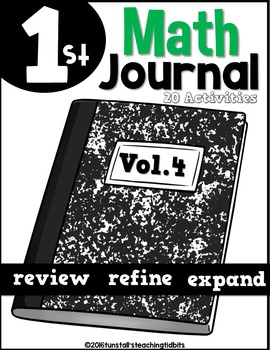 December Math Journal- Interactive & Peel and Stick