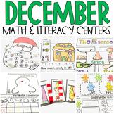 December Math and Literacy Centers (Bundle) CCSS