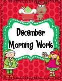 December Morning Work (Common Core Alligned)