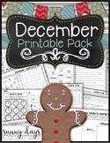 December Printable Pack
