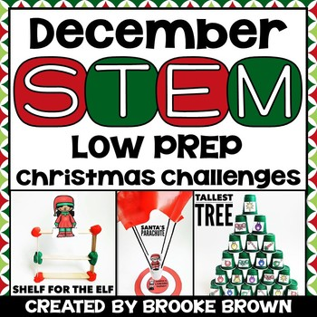 December STEM! {3 Holiday Themed Challenges}
