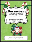 December Writing Pack {Journal topics and themed writing pages}