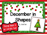 Shapes in December - PK, K, 1
