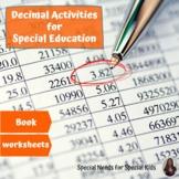 Decimals Unit for Special Education