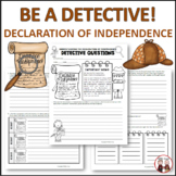 Declaration of Independence Detectives Activity Questions