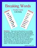Decoding Words - Breaking Words