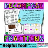 Decompose Fractions Activity