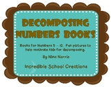 Decomposing Numbers Books