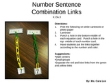 Decomposing Numbers Link Activity