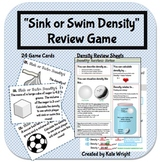 """Density Game """"Sink or Swim"""" Review Activity"""