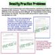 Density Practice Problems