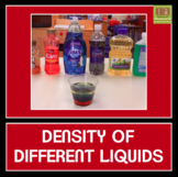 Density of Different Liquids Experiment