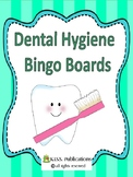 Dental Health Bingo boards