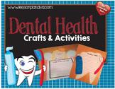 Dental Health Crafts Activity Pack