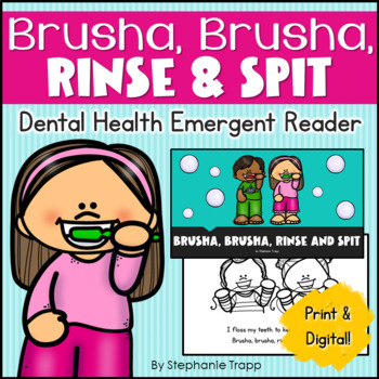 Dental Health Emergent Reader for Kindergarten and First Grade