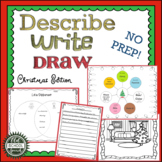 Describe Write Draw Christmas Version