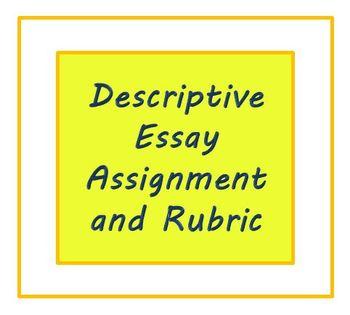 Descriptive Essay Writing Assignment
