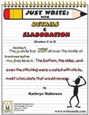 Descriptive Writing Examples, Activities & Prompts - 3rd,