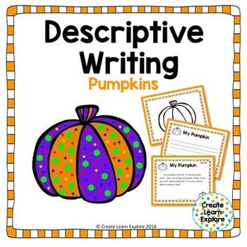 Descriptive Writing:  Pumpkins for Halloween