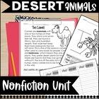 Desert Unit: Common Core Aligned