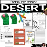 Desert habitat unit { science, language arts, math, art }