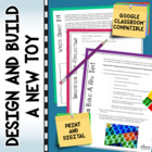 Design and Build a New Toy (Grades 5, 6, 7, 8)