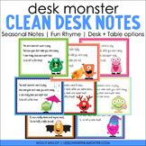Desk Monster Notes (Seasonal Pack)