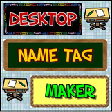 Desktop Name Tag Maker