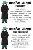 Detective Theme: Classroom Job Cards