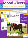 Determining Mood of Texts Study Guide with QR Codes {Links