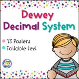 Dewey Decimal System Posters