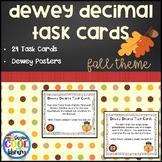 Dewey Decimal Task Cards - Fall Theme