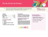 Spanish Día de Gracias - Thanksgiving Lesson in Spanish