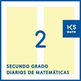 Spanish Math Journals for 2nd Grade