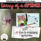 Diary of a Spider Activity Packet