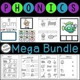 CCSS First Grade MEGA Bundle for Phonics and Phonemic Awareness