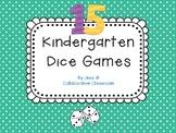 Dice Fun... 15 games for Kindergarten