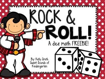 Dice Math FREEBIE!!