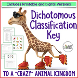Dichotomous Key to Classify a Crazy Animal Kingdom (Classi