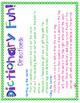 Dictionary Fun!