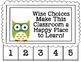 Differentiated Behavior Cards - Owl Theme (Editable)