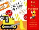 Dig Dig Digging - Teacher Activity and Center Kit
