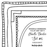 """Doodle Border Set #4 - 8.5x11"""""""