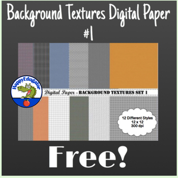 Digital Paper - Background Textures 1