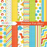 Digital Paper - Dinosaurs