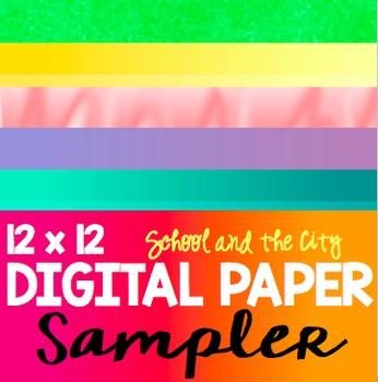 Digital Paper: Sampler 12 x 12
