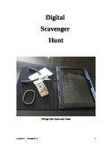 Digital Scavenger Hunts-Higher Level Thinking Skills - Les