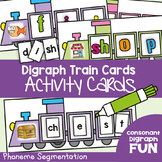 Digraph Train Cards - Phoneme Segmentation