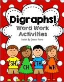 Digraphs! {Word Work Activities}