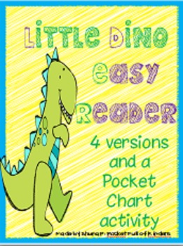 Dino Easy Readers: Color Words